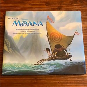 The Art of Moana Hard cover book